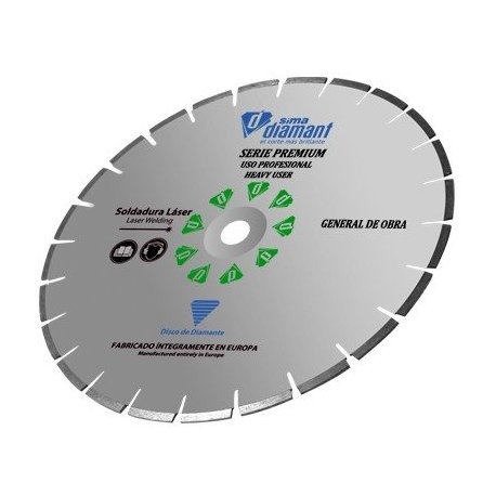 "Diamond Blade Wet Cut Universal Premium 14""/350mm"