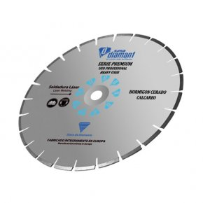 "Diamond Blade Wet Cut-Hard Concrete-Premium 20""/500mm"
