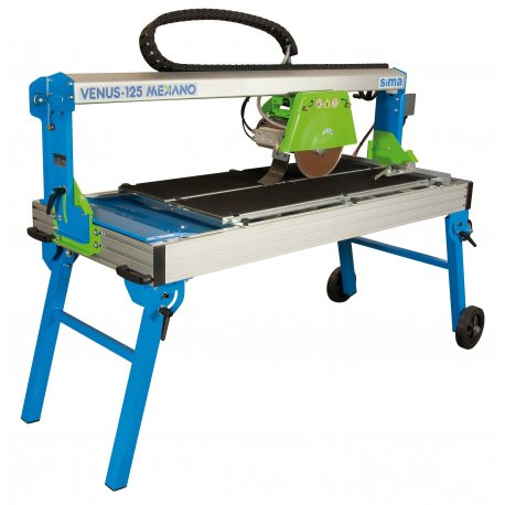 "Bridge/Slab Saw 14""230V Elect. VENUS 1250mm-1"