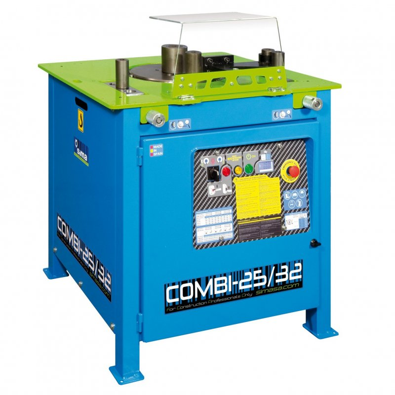 Benders-32mm+Shears 25mm Elect.230V 2.2Kw COMBI 25/32