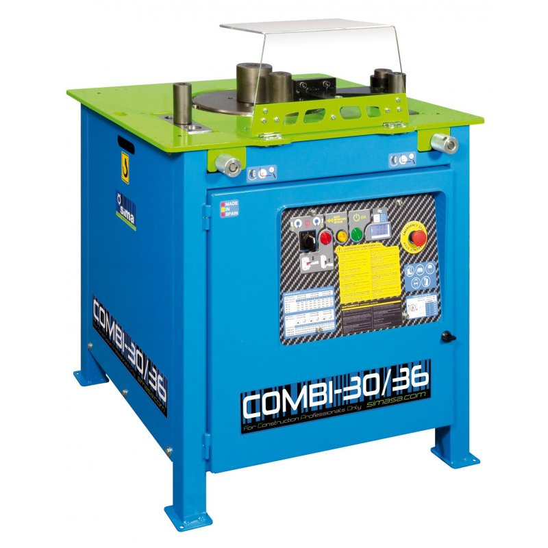 Benders-36mm+Shears 30mm Elect.415V 2.2Kw COMBI 30/36