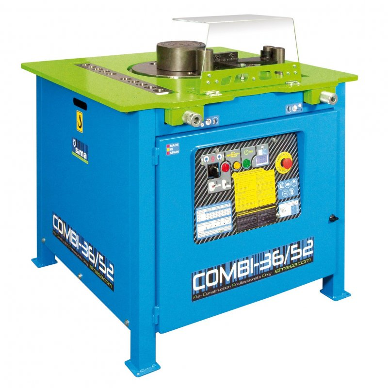 Benders-52mm+Shears 36mm Elect.415V 3,0Kw COMBI 36/52