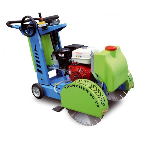 "Road Saw 16"" Honda Petrol 13Hp COBRA Trencher-1"