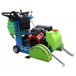 "Road Saw 16"" Honda Petrol 23Hp COBRA Trencher"