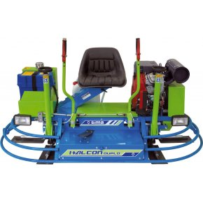 "Double Power Trowel 36"" Honda 23Hp HALCON Duplo-1"