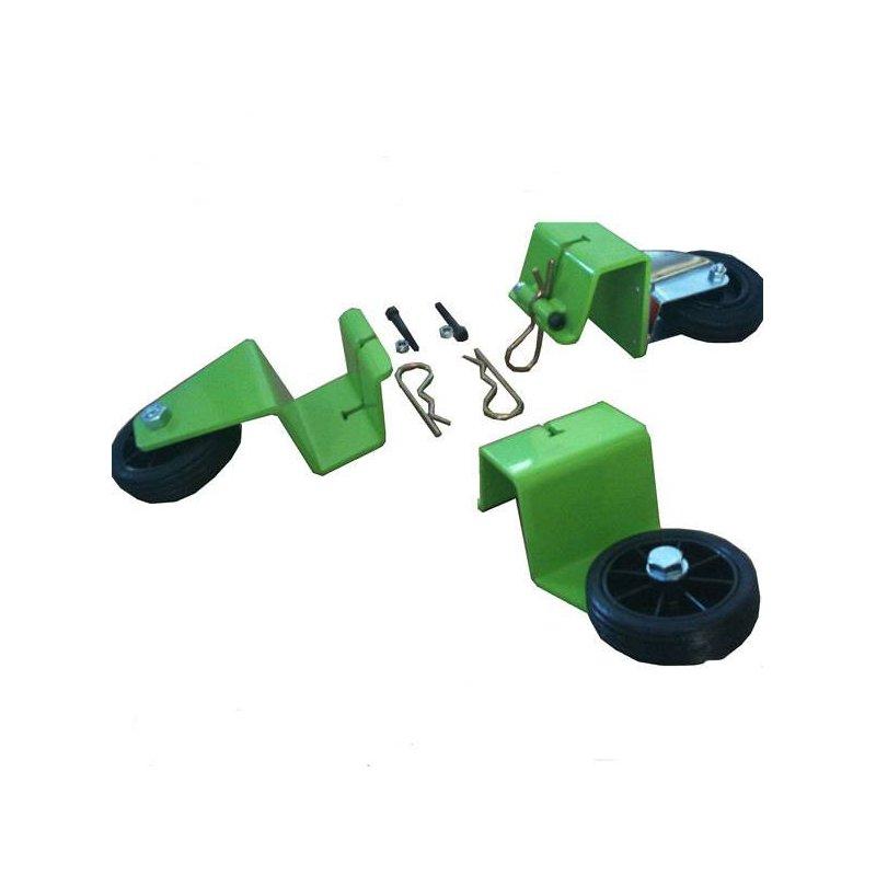 Transportation Wheels Set for Power Trowels Halcon 95-125