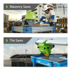 Difference between a Masonry Saw and a Tile Saw