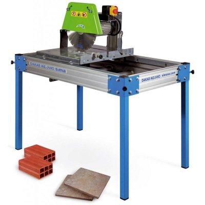 How do you use a masonry cutting saw?
