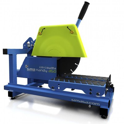 Portable Dustless Masonry Saw for Dry Cutting