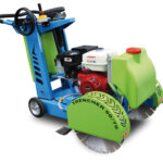 Taking care of concrete cutting saws